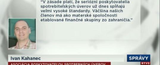 NBS bude posudzovať nebankové spoločnosti
